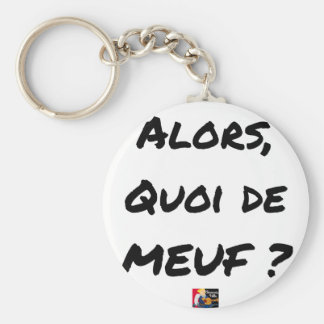 THEN, WHAT OF GIRL? - Word games Key Ring