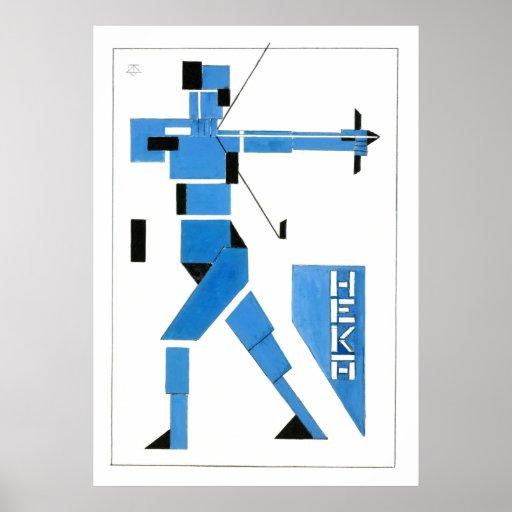 Theo van Doesburg Archer De Stijl Posters