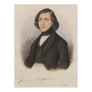 Theodor Fontane, 1843 Postcard