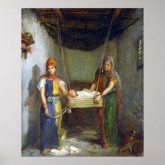 Théodore Chassériau Scene in the Jewish Quarter Poster