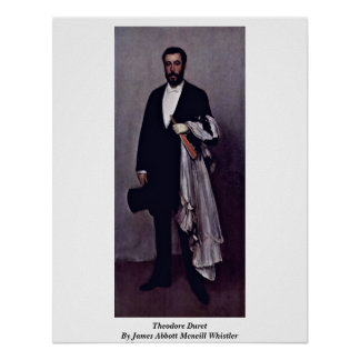 Theodore Duret By James Abbott Mcneill Whistler Posters
