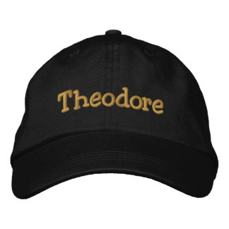 Theodore Personalized Baseball Cap / Hat