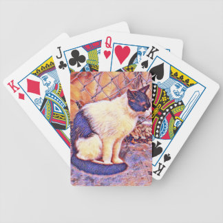 theodore reds bicycle playing cards