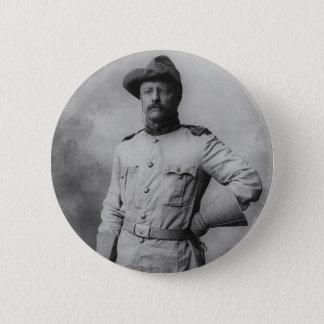 Theodore Roosevelt 6 Cm Round Badge