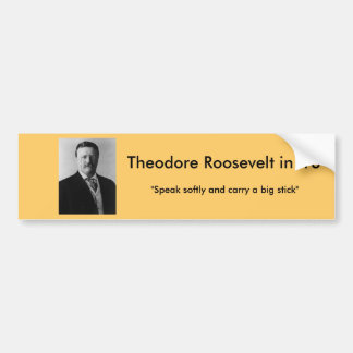Theodore Roosevelt for President Bumper Sticker