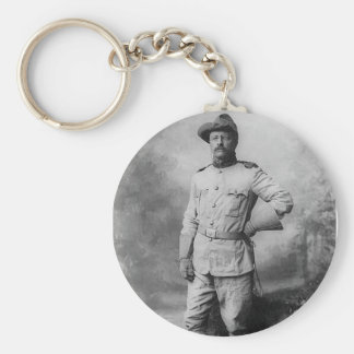 Theodore Roosevelt Key Ring