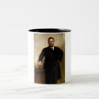 Theodore Roosevelt Two-Tone Mug