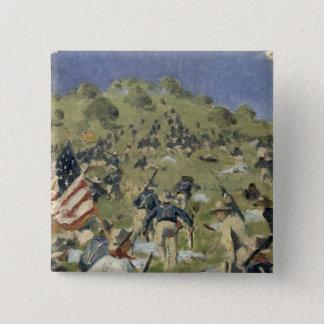 Theodore Roosevelt taking the Saint Juan 15 Cm Square Badge