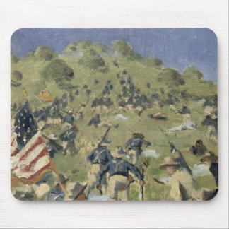 Theodore Roosevelt taking the Saint Juan Mouse Pad