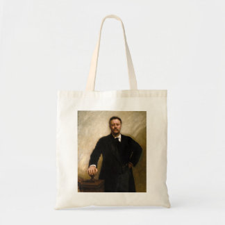 Theodore Roosevelt Budget Tote Bag