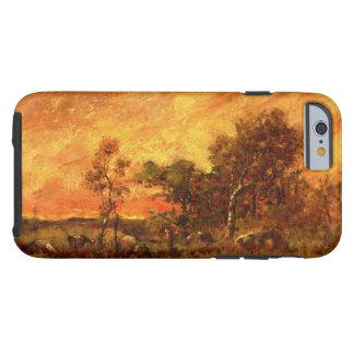 Theodore Rousseau Wooded Landscape Vintage Art Tough iPhone 6 Case