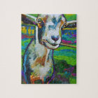 Theodore the Goat Jigsaw Puzzle