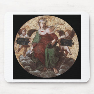 Theology, from the 'Stanza della Segnatura Raphael Mouse Pad