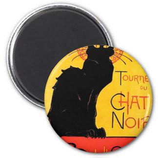 Théophile-Alexandre Steinlen - Tournée du Chat Noi 6 Cm Round Magnet