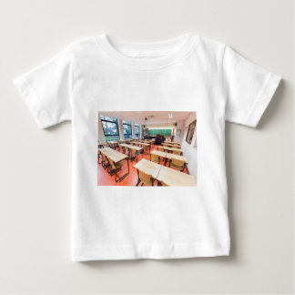 Theory classroom in high school baby T-Shirt