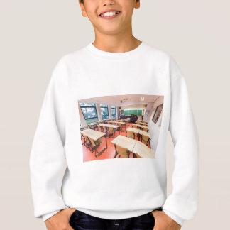 Theory classroom in high school sweatshirt