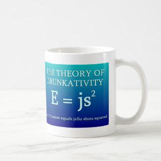 Theory of Drunkativity Coffee Mugs
