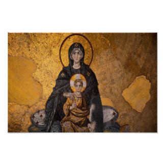 Theotokos,Mary, mother of Jesus Poster