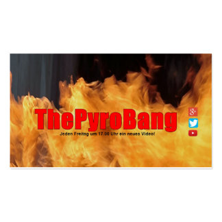 ThePyroBang visiting cards Pack Of Standard Business Cards