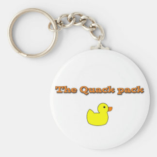 thequackpack.png basic round button key ring