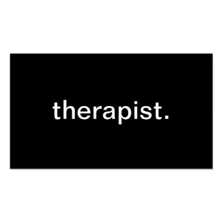 Therapist Business Card Template