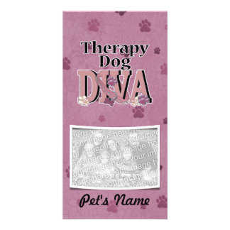 Therapy Dog DIVA Photo Cards