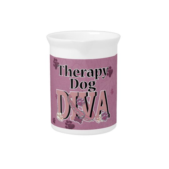 Therapy Dog DIVA Pitcher