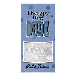 Therapy Dog DUDE Photo Cards