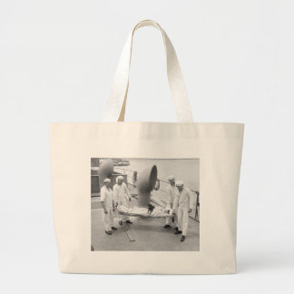 Therapy Dog, early 1900s Jumbo Tote Bag