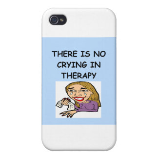 therapy joke iPhone 4/4S case