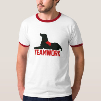 (Therapy) Teamwork Red Mens Ringer T-Shirt