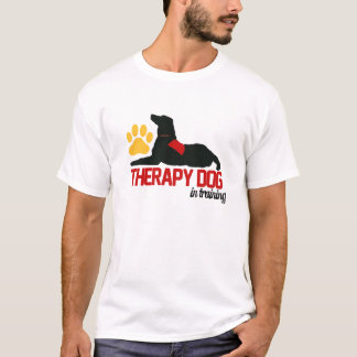(Therapy) Therapy Dog Blue T-Shirt