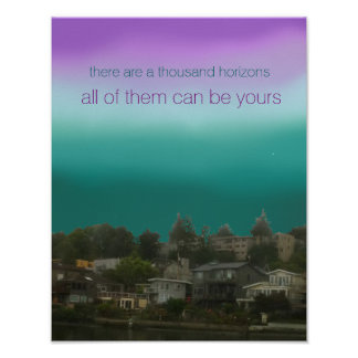 There Are A Thousand Horizons Poster