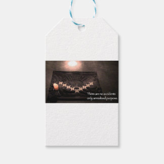 there are no accidents only unrealized purpose gift tags