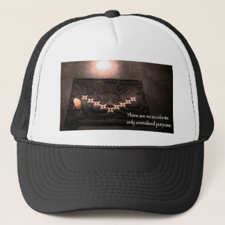 there are no accidents only unrealized purpose trucker hat
