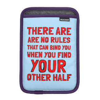 """There are No Rules"" iPad Mini Soft Case"