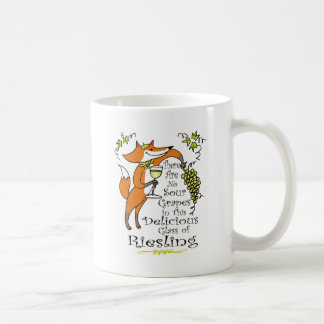 There Are No Sour Grapes in this Riesling! Coffee Mug