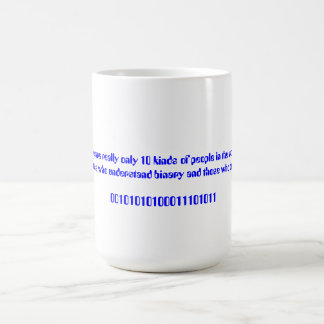 There are really only 10 kinds of people... basic white mug