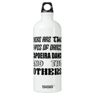 There are two types of Dance  Capoeira dance and o Water Bottle
