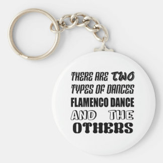 There are two types of Dance  Flamenco dance and o Key Ring