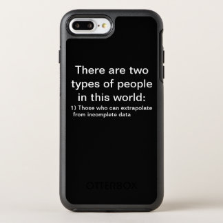 There are two types of people... OtterBox symmetry iPhone 8 plus/7 plus case