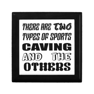 There are two types of sports Caving and others Gift Box