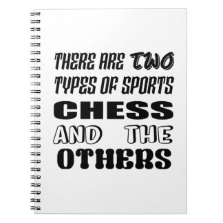 There are two types of sports Chess and others Notebook