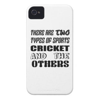 There are two types of sports cricket and others iPhone 4 cover
