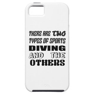 There are two types of sports Diving and others iPhone 5 Cover