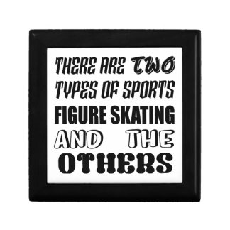 There are two types of sports Figure Skating and o Gift Box