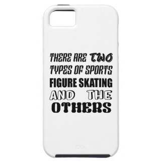 There are two types of sports Figure Skating and o iPhone 5 Case
