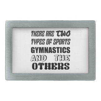 There are two types of sports Gymnastics and other Rectangular Belt Buckle