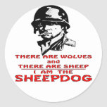 There Are Wolves There Are Sheep I Am The Sheepdog Stickers
