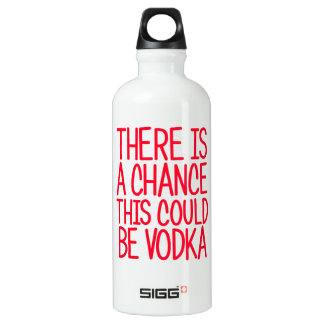 There Is A Chance This Could Be Vodka SIGG Traveller 0.6L Water Bottle